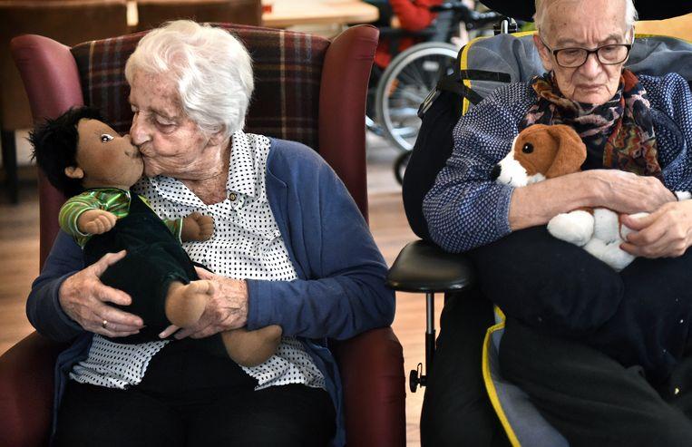 Het Welgelegenhuis is een kleinschalige woonzorginstelling voor mensen met een vorm van geheugenverlies.  Beeld Marcel van den Bergh
