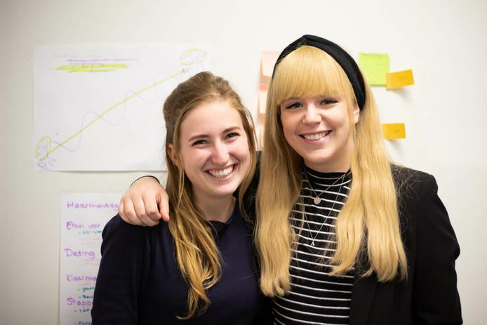 Lauren (links) en Lotte.