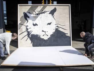 Stuk muur met Banksy brengt 380.000 euro op in Nederland