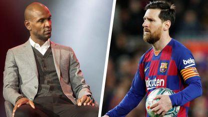 De training waarop het ei zo na escaleerde tussen Lionel Messi en Éric Abidal