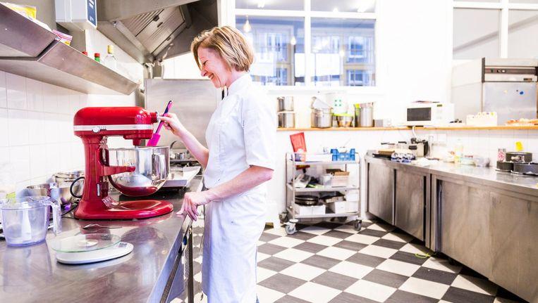 Kirsten Dashorst in haar taartenwinkel My Sweet Nature Beeld Tammy van Nerum