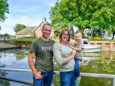 Jan boert op eiland in de Biesbosch: 'Voor boodschappen doen pakken we de boot'
