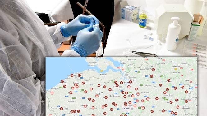 IN KAART. Vlaamse vaccinatiecentra zijn bekend: hier kan u binnenkort terecht voor een coronavaccin
