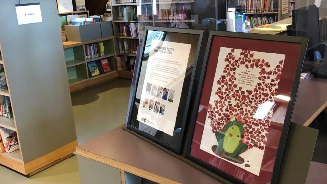 Leerlingen maken affiches voor Jeugdboekenmaand