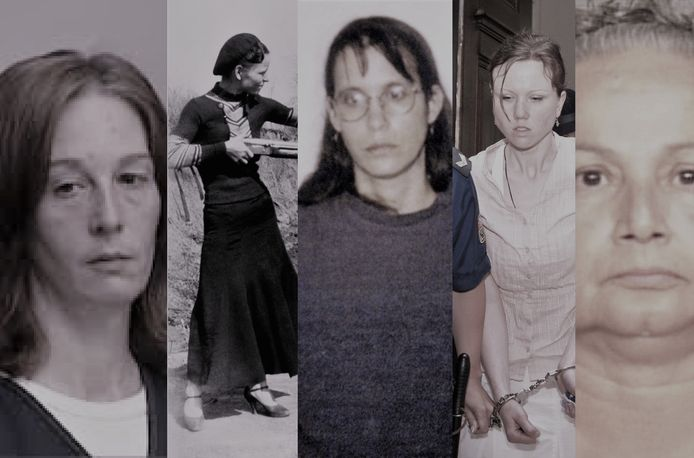 Stacey Castor, Bonnie Parker, Andrea Yates, Klara Mauerova en Griselda Blanco.