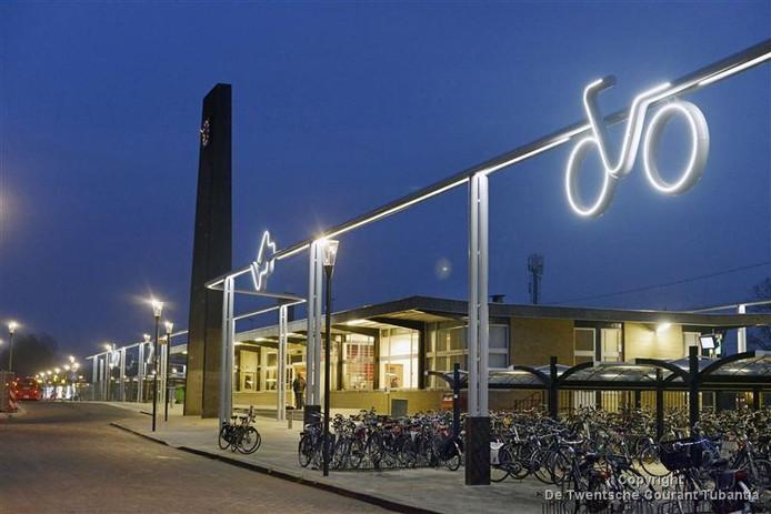 Het stationsgebied in Oldenzaal