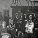 Een feestavond van Philips Direct Export in Royal, in Eindhoven in 1961