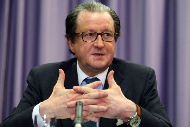 ING-topman Michel Tilmant deed de salarisdiscussie in Nederland kort geleden nog af als gezeur. Foto ANP/Evert Elzinga Beeld