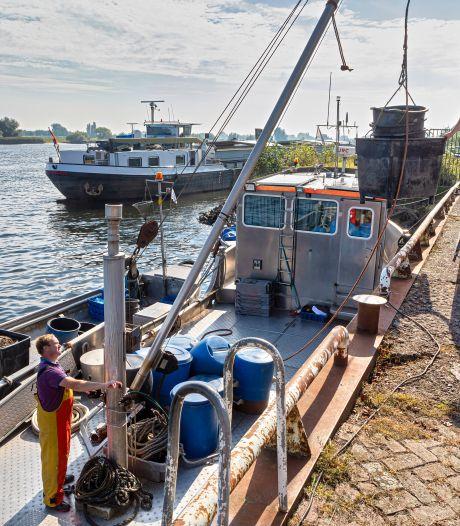 Geen zalm meer te vinden, maar ook de negende generatie vist nog in de Biesbosch