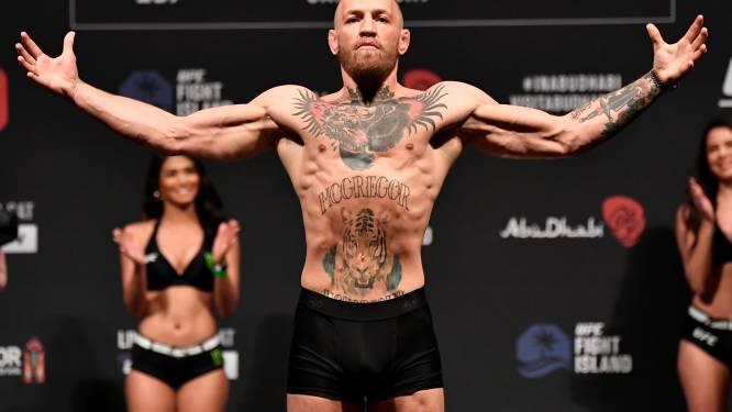 Conor McGregor effectue son troisième come-back à Abou Dhabi