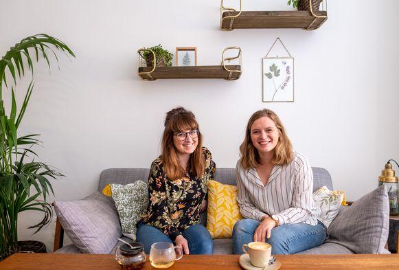 Laurien en Elise Belien openen dit weekend Cabane in de Berlaarsestraat in Lier.