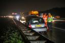 Meerdere ongevallen door gladheid in de regio Apeldoorn eerder deze week.