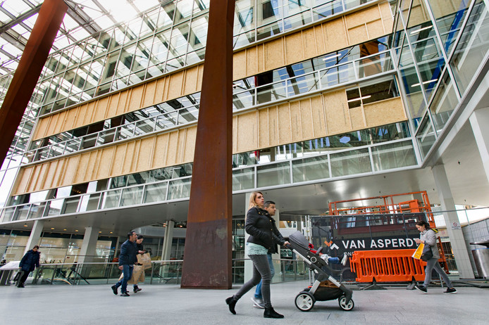 Piazza Eindhoven wordt verbouwd