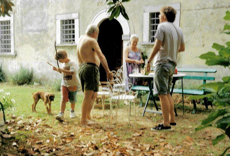 Familievakantie in Toscane. Beeld Privéfoto