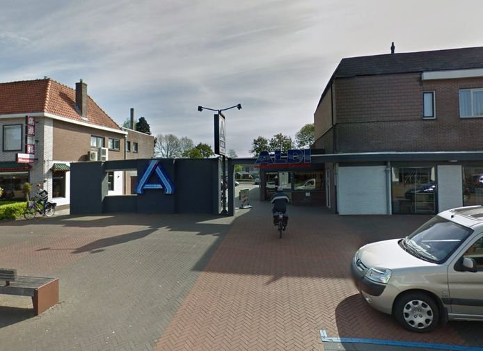 De Aldi in de Julianastraat in Dedemsvaart.