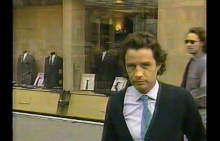 Jean-Luc Brunel in de documentaire die CBS over hem maakte in 1988. Beeld rv