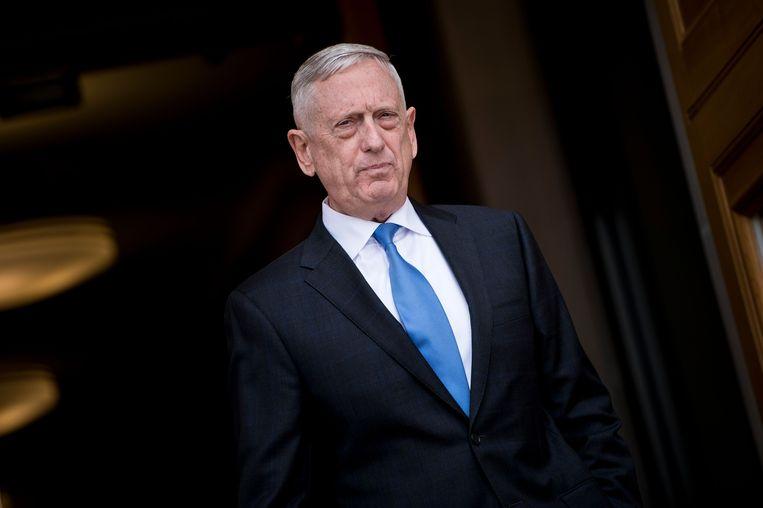 Jim Mattis, oud-minister van Defensie onder Donald Trump. Beeld AFP