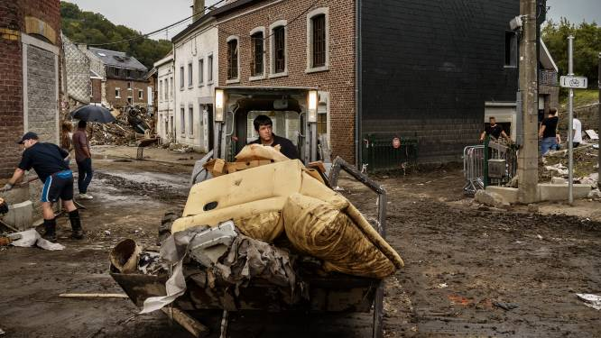 Drie weken na overstromingen komt er nieuwe ondersteuningscel: Verlinden wil doen wat Wallonië niet lukt