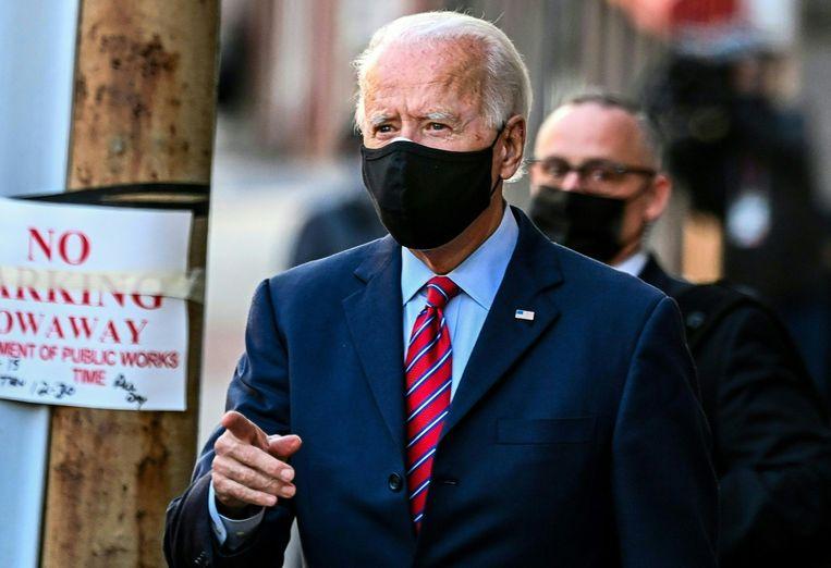Voor Joe Biden kan het werk nu echt beginnen Beeld AFP