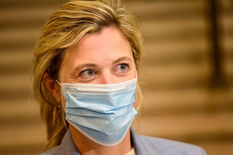 Annelies Verlinden (CD&V) wordt de nieuwe minister van Binnenlandse Zaken. Beeld BELGA