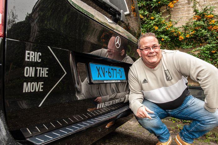 Een 'dappere' ondernemer: taxichauffeur Eric Belluz (51) wordt met ingang van het nieuwe jaar cafébaas in Oudewater