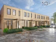 Vijf starterswoningen van hout voor jongeren in Didam