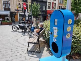 Gratis zonnecrème-dispensers op Beestenmarkt en Stationsplein in Halle