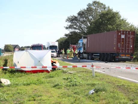 Vrouw overleden na ongeluk op N18 bij Harreveld