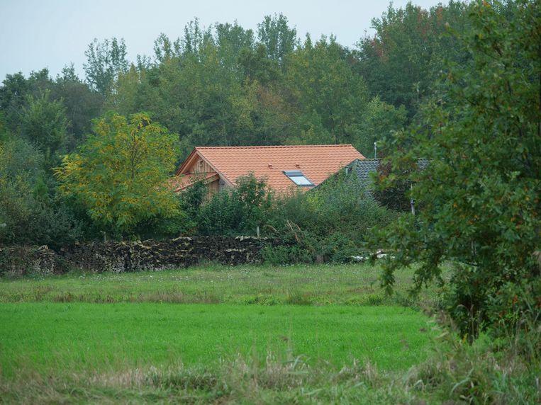 De boerderij nabij Ruinerwold. Beeld Brunopress