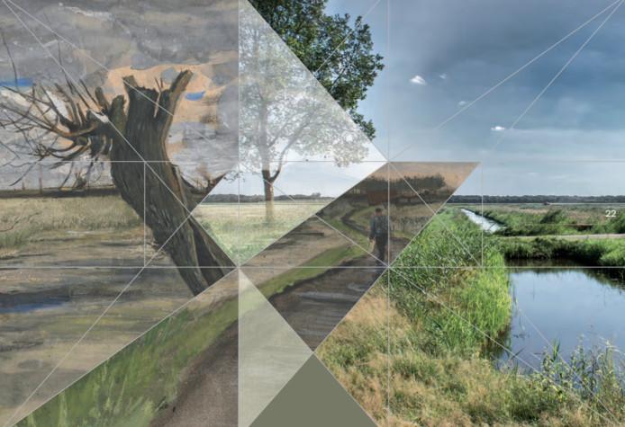 Het Brabantse landschap zien door de schilderijen van Van Gogh.