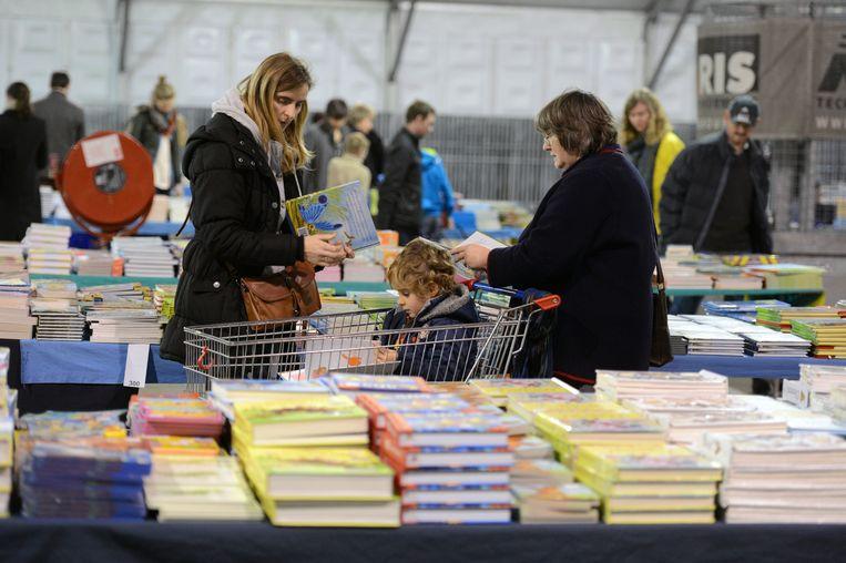 Het jaarlijkse boekenfestijn kon in Hasselt jaarlijks zo'n 30.000 bezoekers trekken.