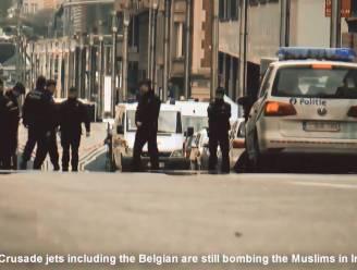 IS post propagandavideo over aanslagen Brussel