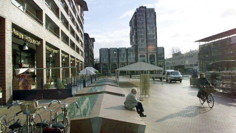 Het Stadshart in Amstelveen na de oplevering in 2001. Foto ANP Beeld
