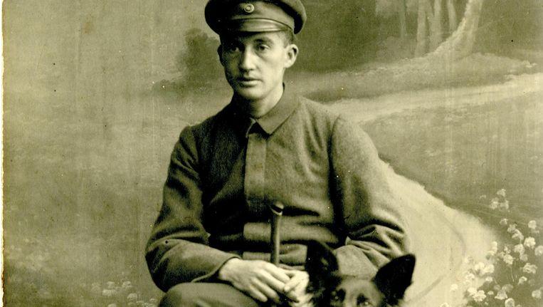 De eerste blindengeleide-honden waren na de Eerste Wereldoorlog bestemd voor blinde oorlogsveteranen. Beeld Sabine Häcker/familie Feyen