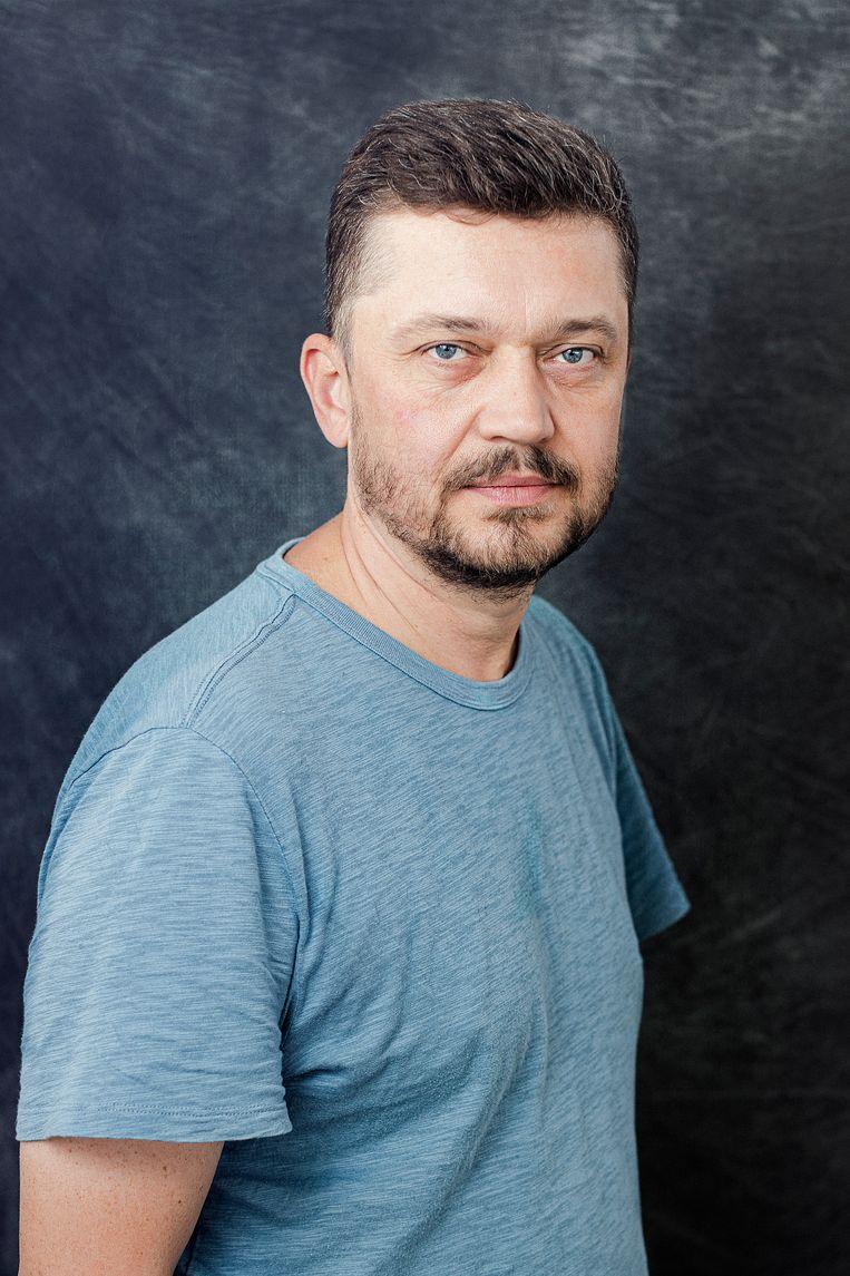 Regisseur Valentyn Vasyanovych. Beeld Gamma-Rapho via Getty Images