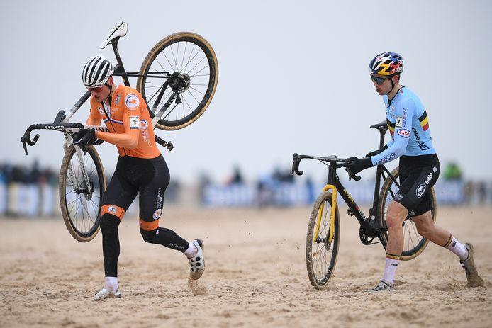Mathieu van der Poel et Wout Van Aert se retrouveront sur la route au printemps.