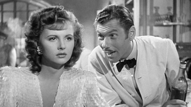 Madeleine Lebeau als Yvonne in 'Casablanca'.