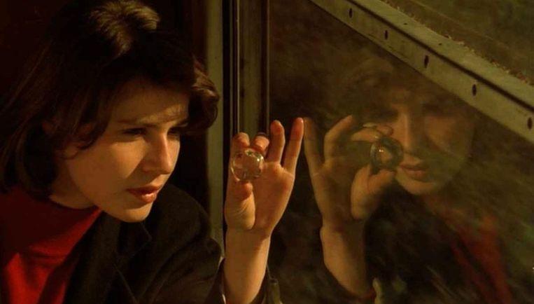 Irène Jacob in La double vie de Véronique van Krzysztof Kieslowski. Beeld