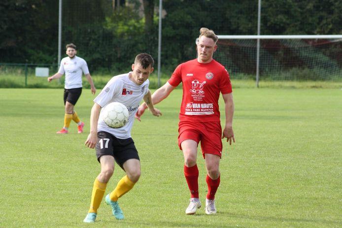 Niels De Wolf (à droite) a joué les trois dernières saisons avec le White Star Sombeke.