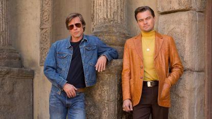 Brad Pitt en Leonardo DiCaprio nu al beste vrienden op de set van nieuwe film
