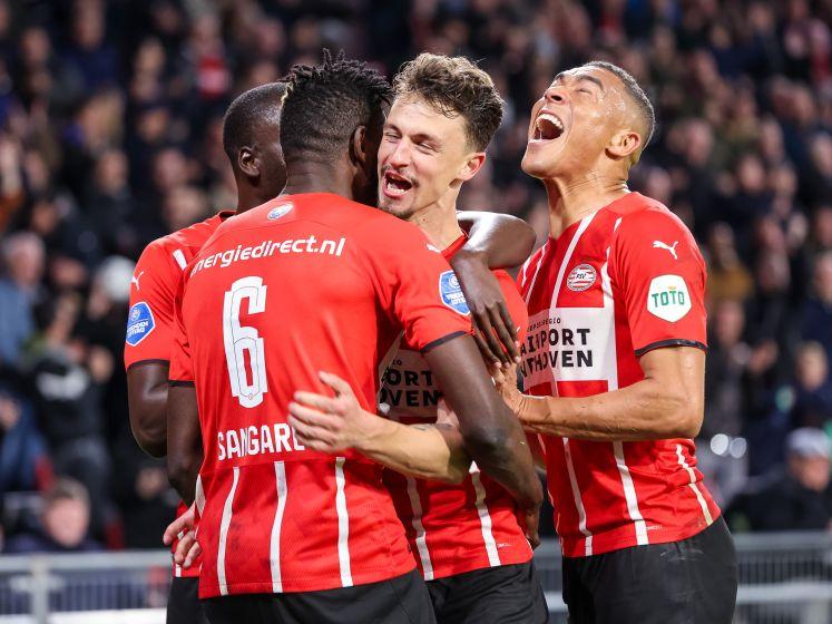 PSV verslaat op het nippertje PEC Zwolle: 'Kan hier niet op deze manier mee doorgaan'