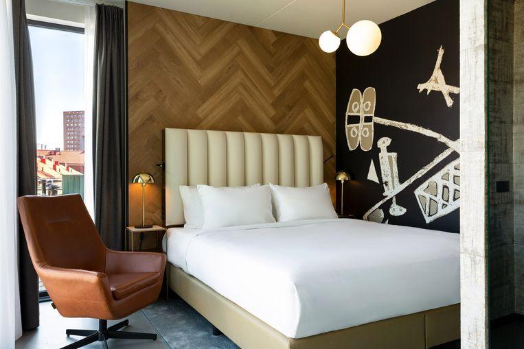 Dromen van primeurs in de luxueuze lofts. Beeld Slaak Rotterdam