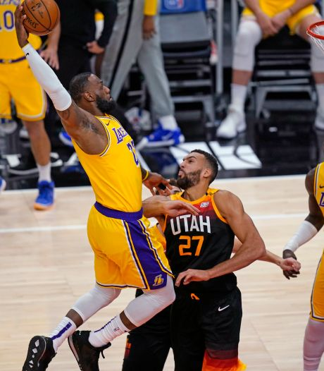 Utah Jazz in Los Angeles veel te sterk voor titelverdediger Lakers