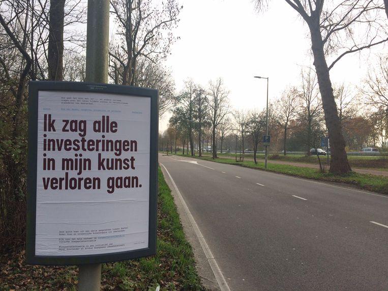 #Hoegaathetechtmetje - de quote op de posetr is van Eva van Manen Beeld project door Merel Noorlander en Arthur Kneepkens