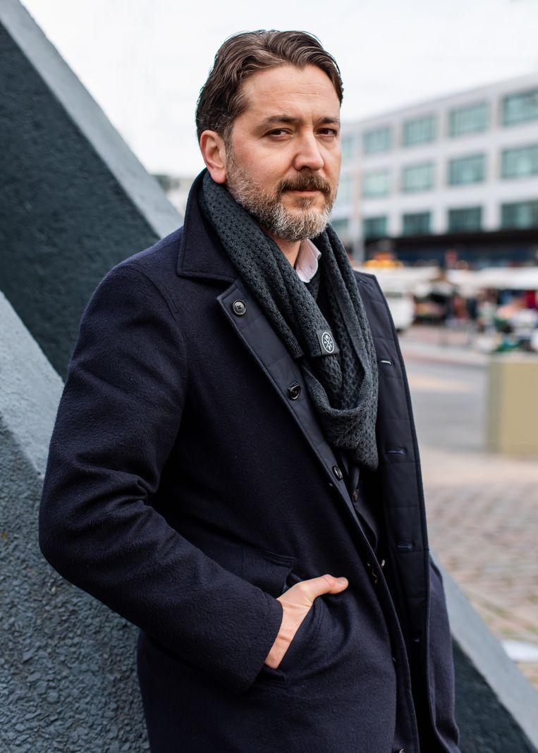 Emre Ünver (38). Beeld Lin Woldendorp
