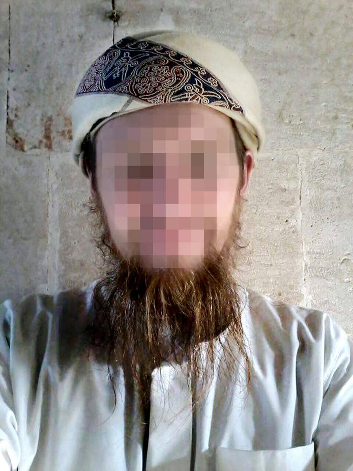 Victor D. in Syrië. FOTO: Facebook