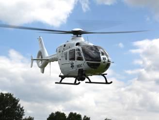 Turnster Altis Eeklo afgevoerd met helikopter