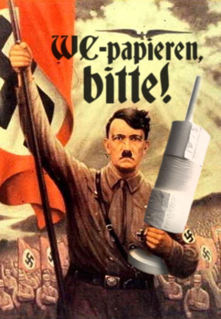 Naziboek Beeld humo