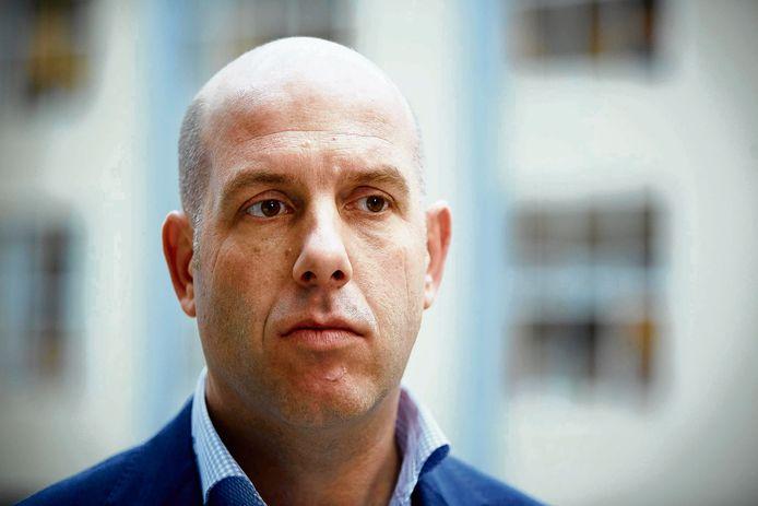Gijs de Jong, secretaris-generaal van de KNVB.