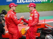 Leclerc over Vettel: 'Ik had nooit zoveel kunnen leren zonder jou'